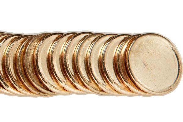blank one dollar coins
