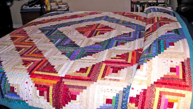 Photo Gallery and Layout Tips for Log Cabin Quilts