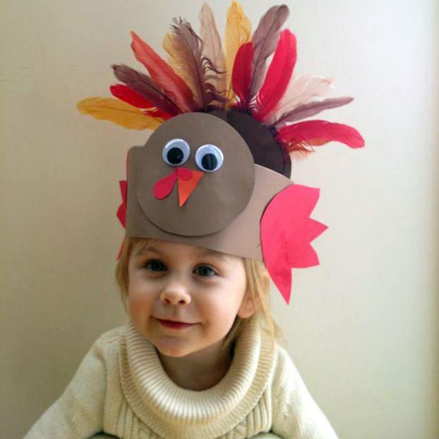 Paper Turkey hat