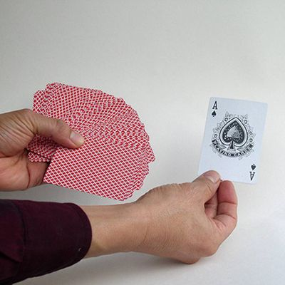 Select a card from the deck