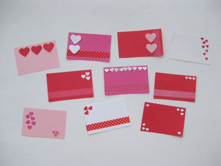 easy mini school valentine cards to make in minutes