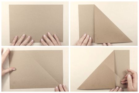 Origami Paper Storage Pocket Tutorial