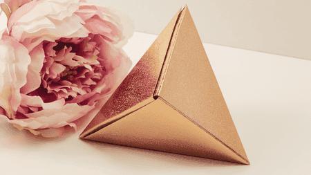 10 christmas origami projects origami fox box mightylinksfo