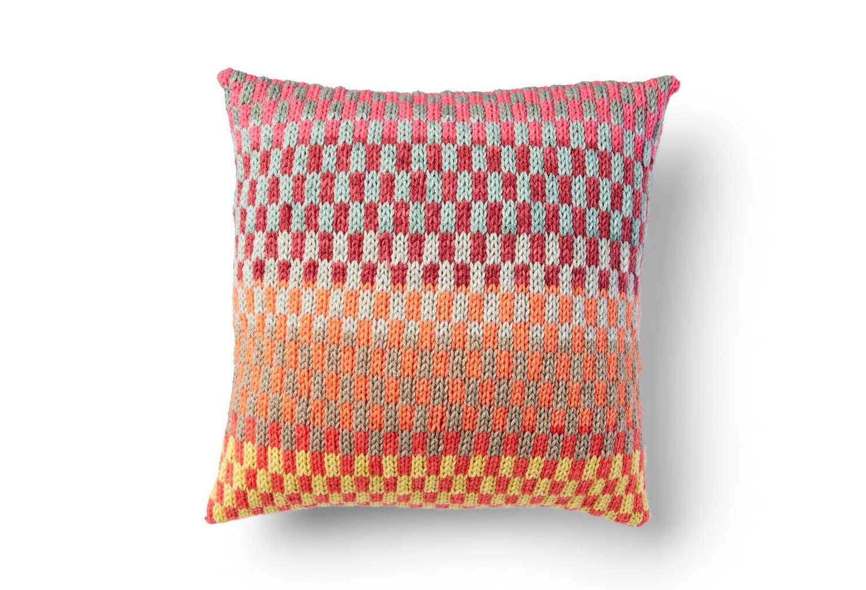 Fantastic Fair Isle Knit Pillow
