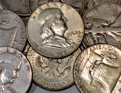 How to Find the Silver Melt Value of Coins