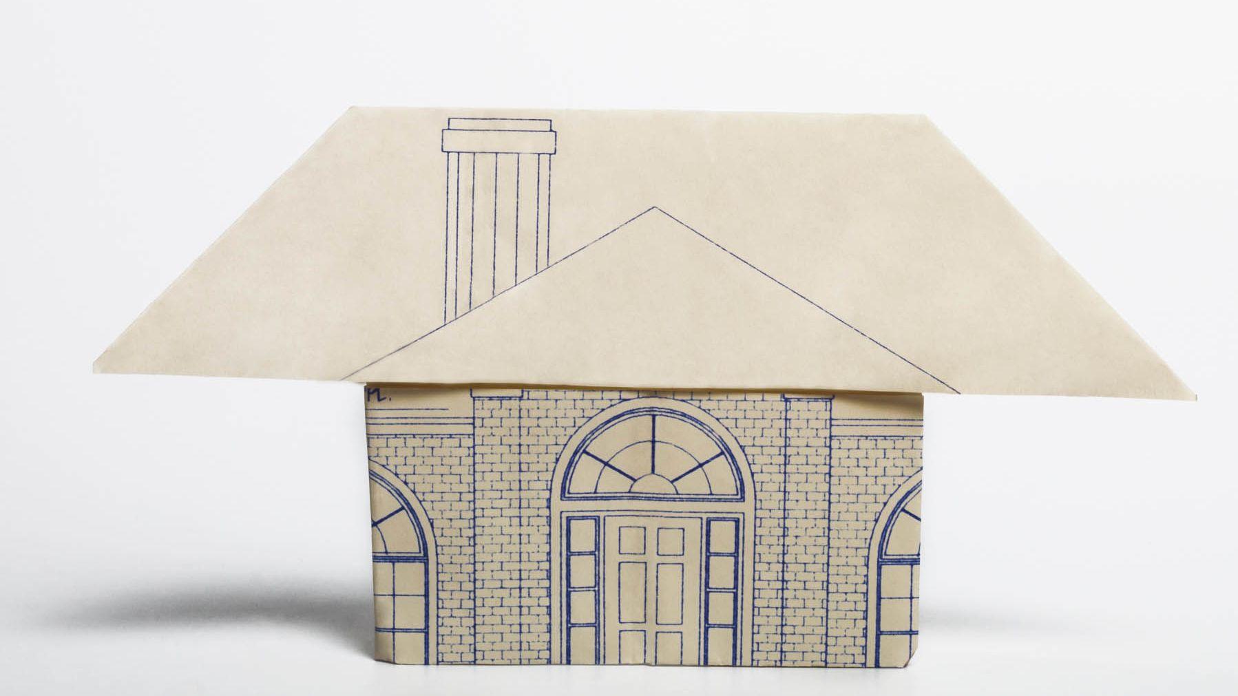 Origami House 3D - YouTube | 1011x1798