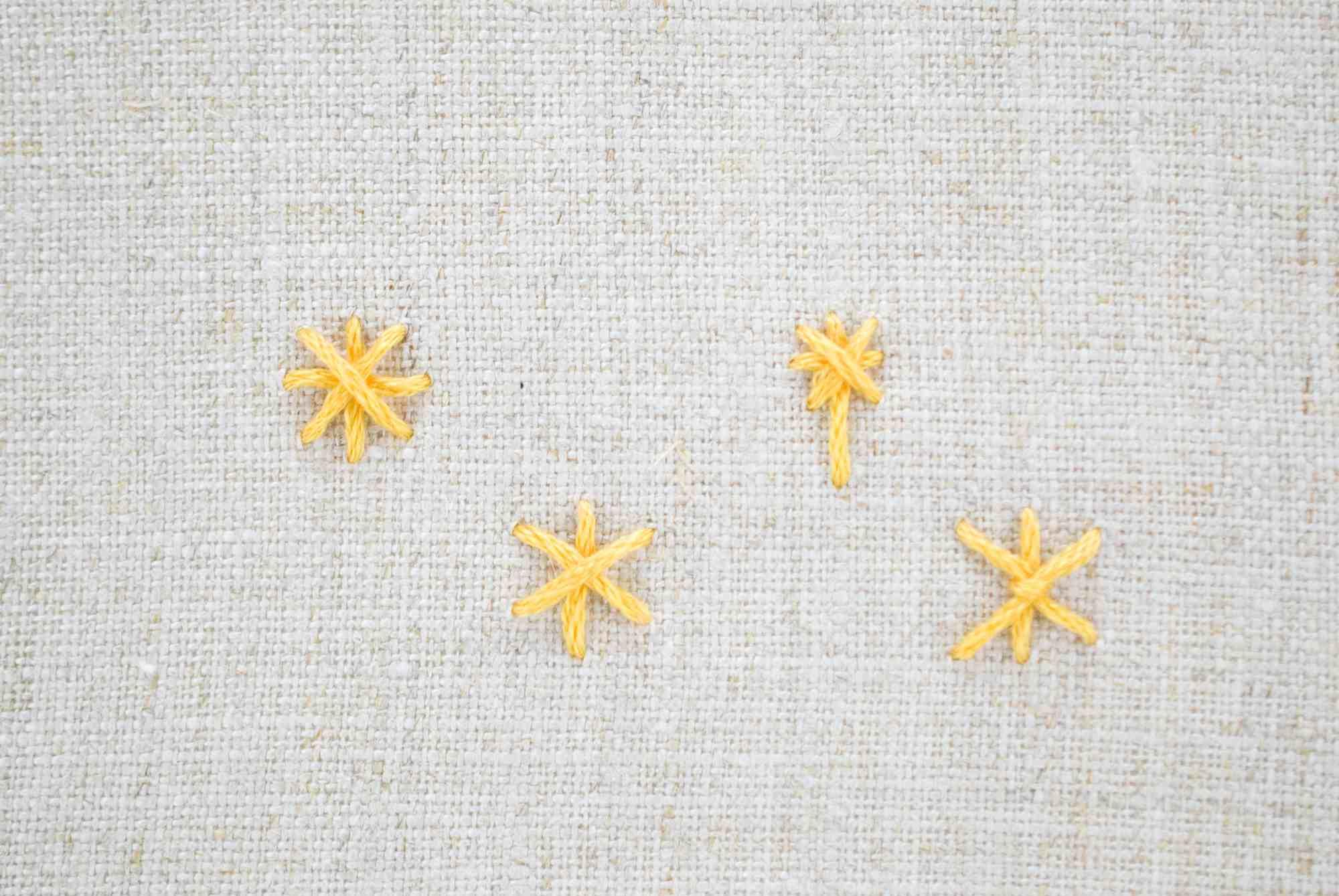 Star Stitch Variations