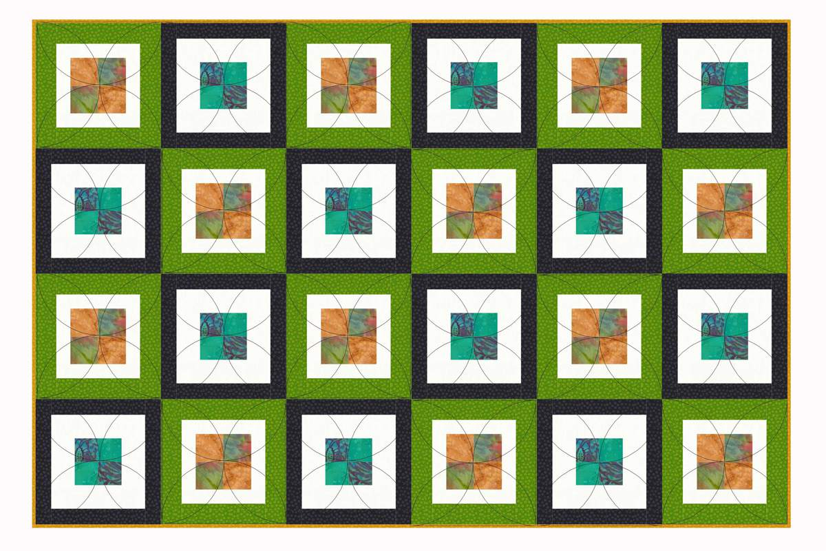 Contemporary Baby Quilt Pattern