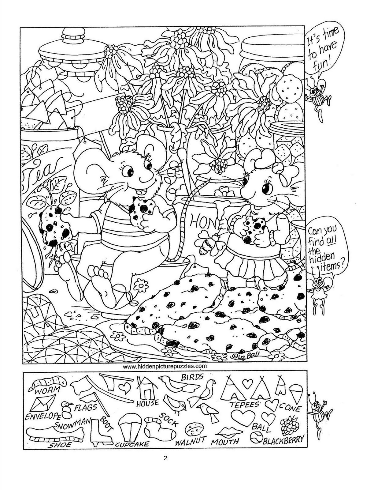 Worksheets Free Printable Hidden Picture Worksheets 7 places to find free hidden picture puzzles for kids