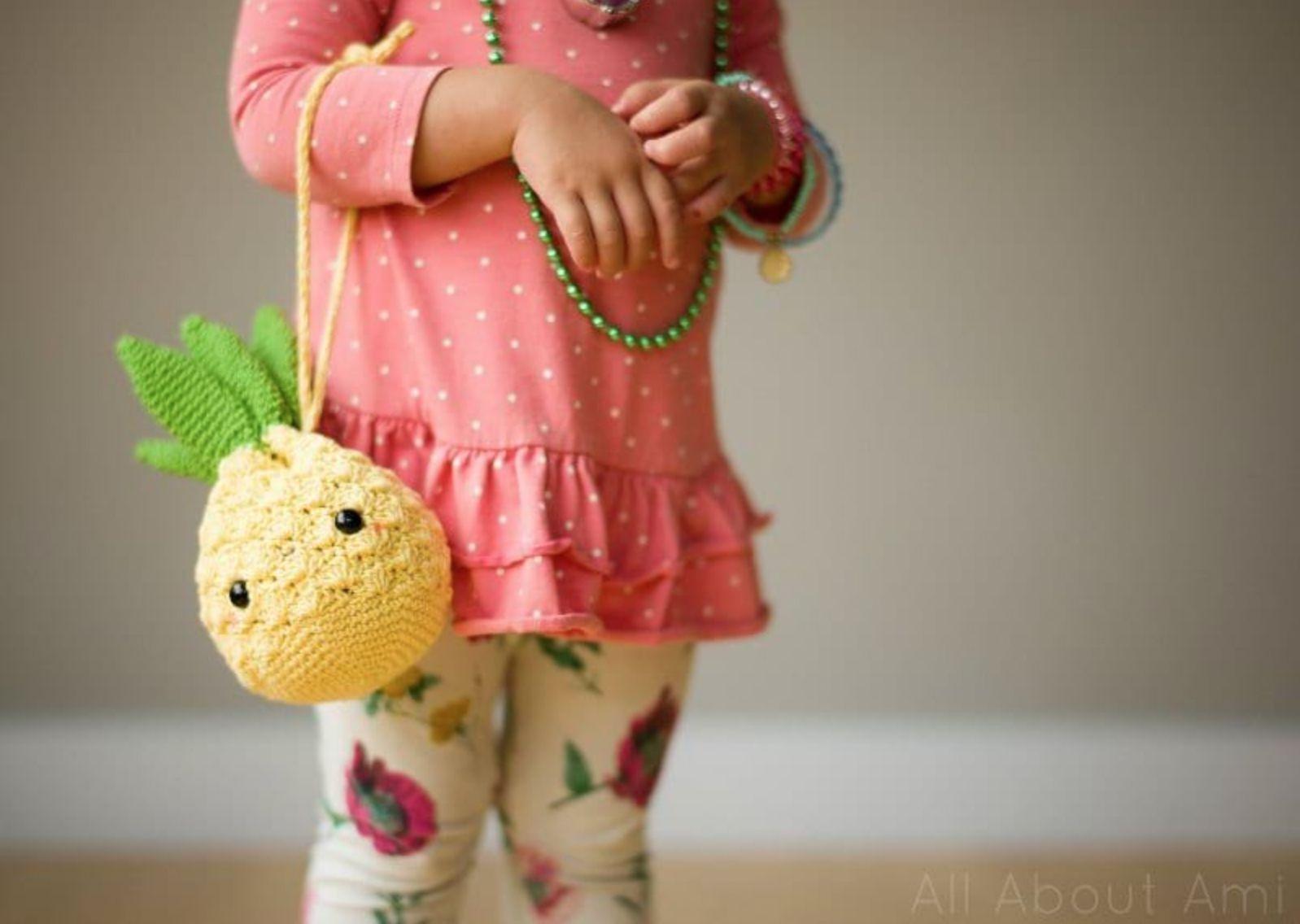 Amigurumi Pineapple Purse Pattern