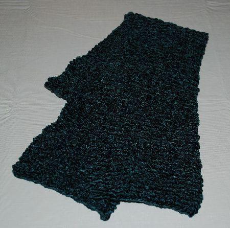 Knit An Easy Box Stitch Scarf