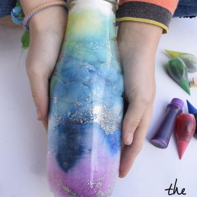 galaxy in a bottle