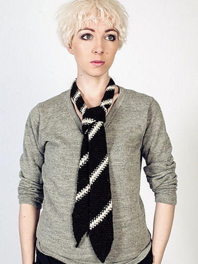 Crochet Tie Scarf Free Pattern