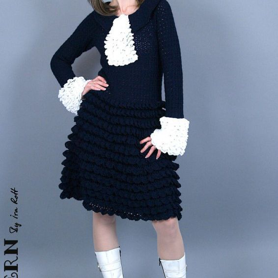 60 Types Of Unique Crochet Dresses Fascinating Crochet Dress Patterns