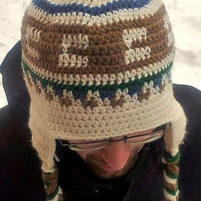 c265891d478 Men s Crochet Earflap Hat Pattern