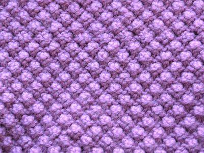 Checkerboard Stitch Knitting Pattern