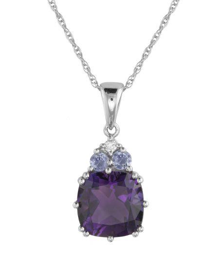 Easy stone settings for your rings and pendants diamond multi stone pendant aloadofball Gallery
