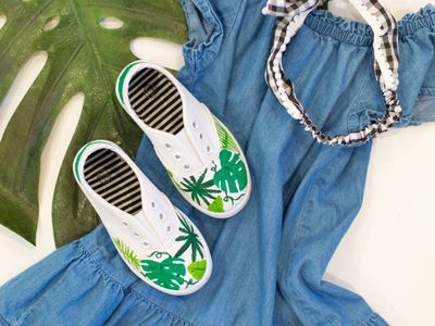 Diy Painted Shoe Soles