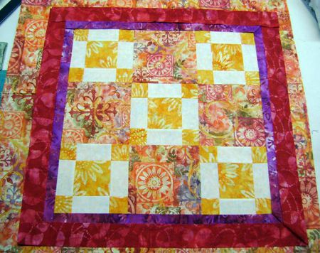 Pictures Of Quilts Designed With Squares And Rectangles
