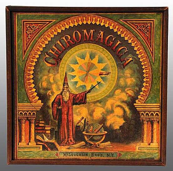 "McLoughlin ""Chiromagica"" Wizard Game - Collecting Board Games"