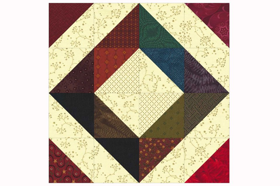 Easy Scrap Quilt Block Pattern