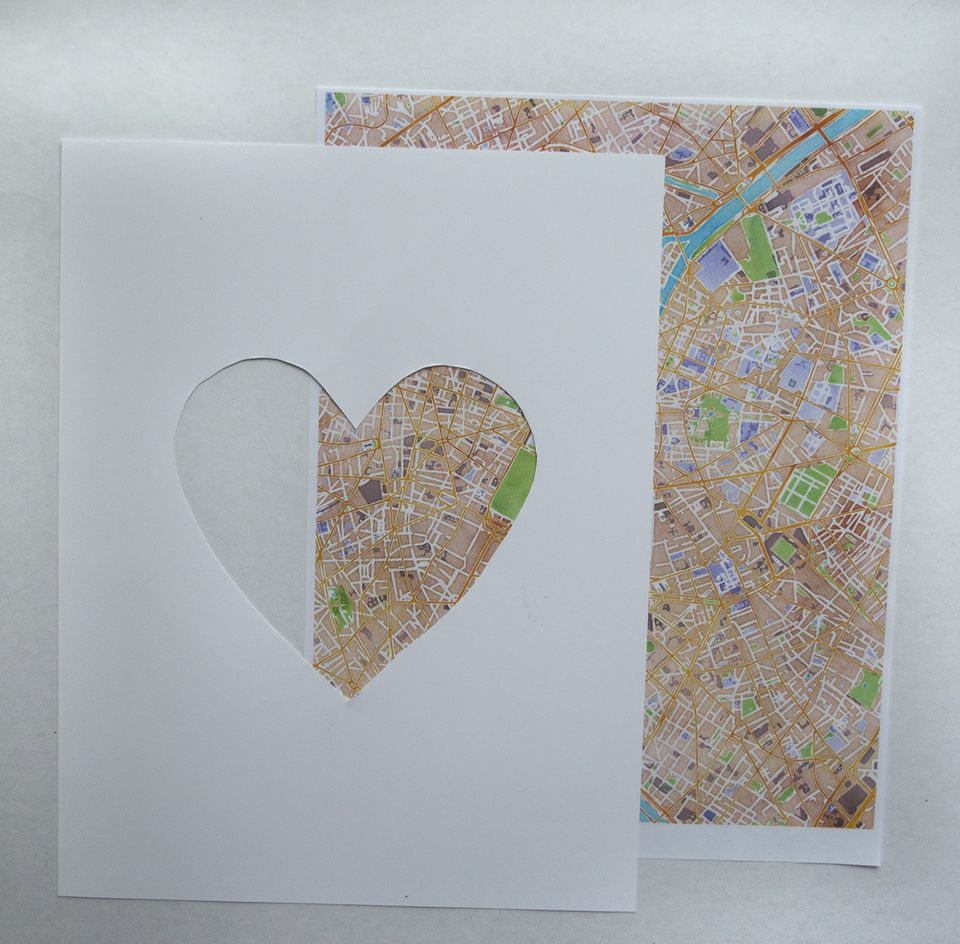 Make diy travel art using old maps diy travel art solutioingenieria Images