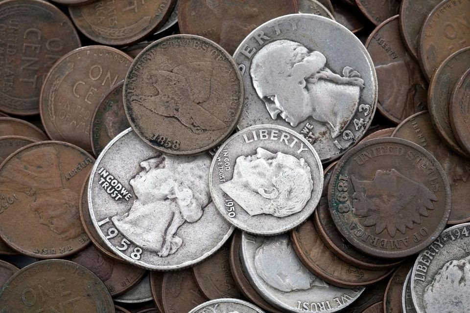 Vintage US coins