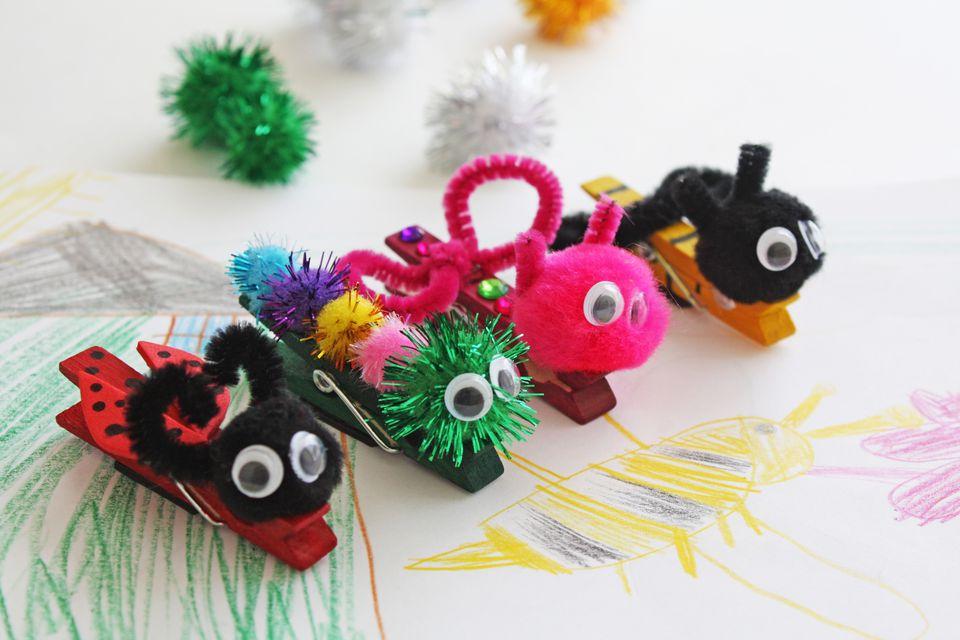 spring bug magnets