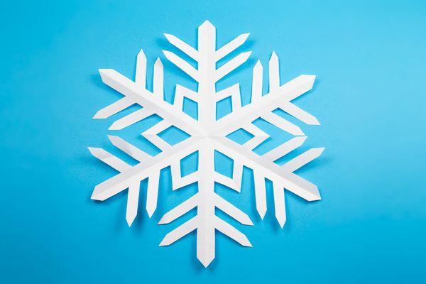 Kirigami Snowflake Instructions 00