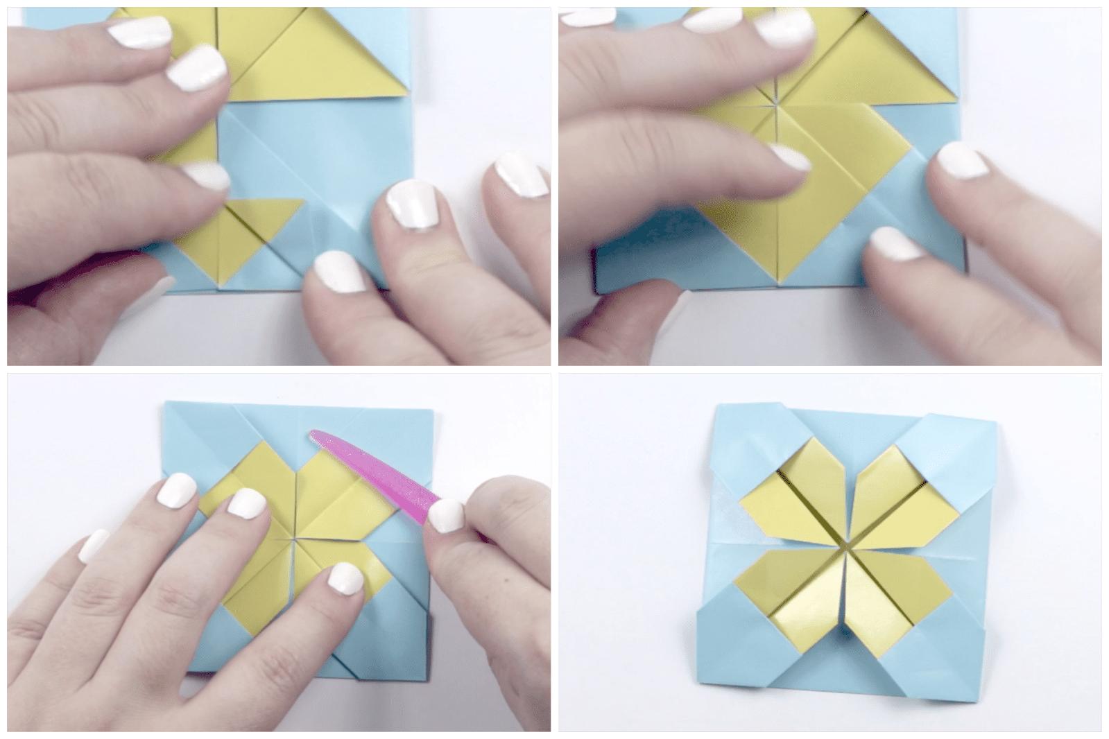 Origami Quilt Artwork Tutorial 04