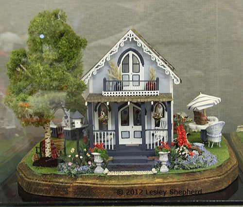 Campground cottage quarter scale scene