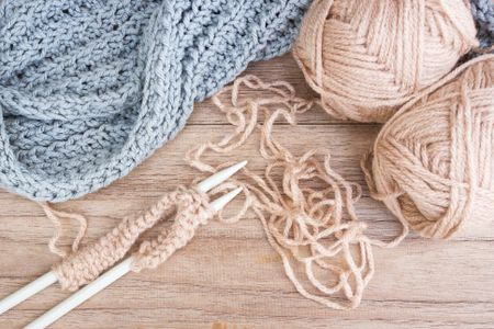 Behind The Scenes Knitting A Prayer Shawl