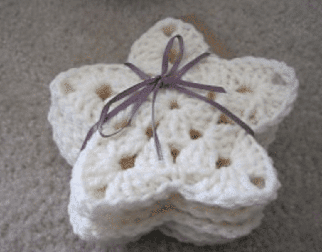 Little Stars | Crochet star patterns, Christmas crochet, Crochet ... | 858x1097