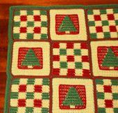 Crochet Christmas Quilt