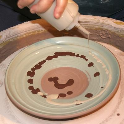 Slip Decoration Techniques in Pottery