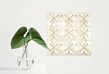 How to Create Wall Art with Origami Quilts