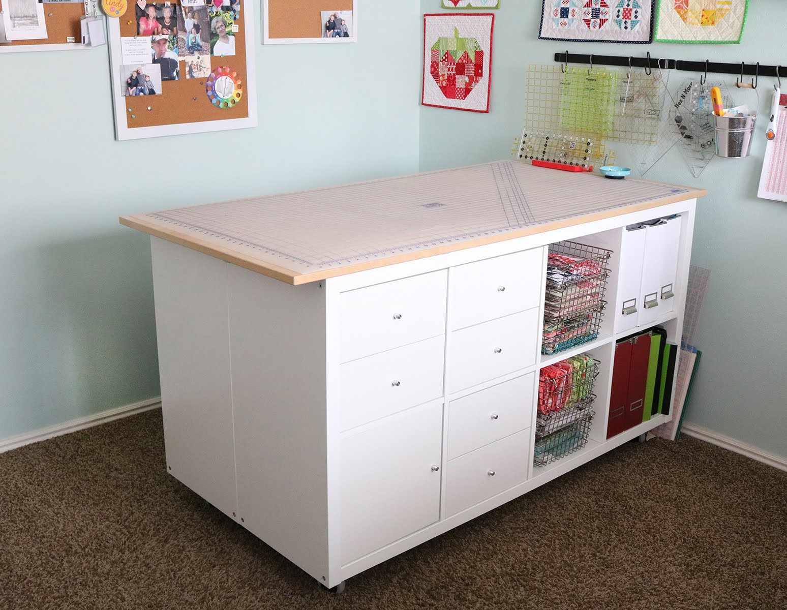 Free Diy Craft Table Plans