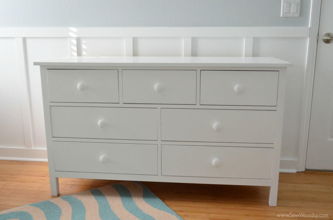 A White Diy Dresser