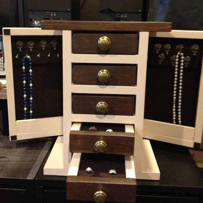 10 Free Diy Jewelry Box Plans