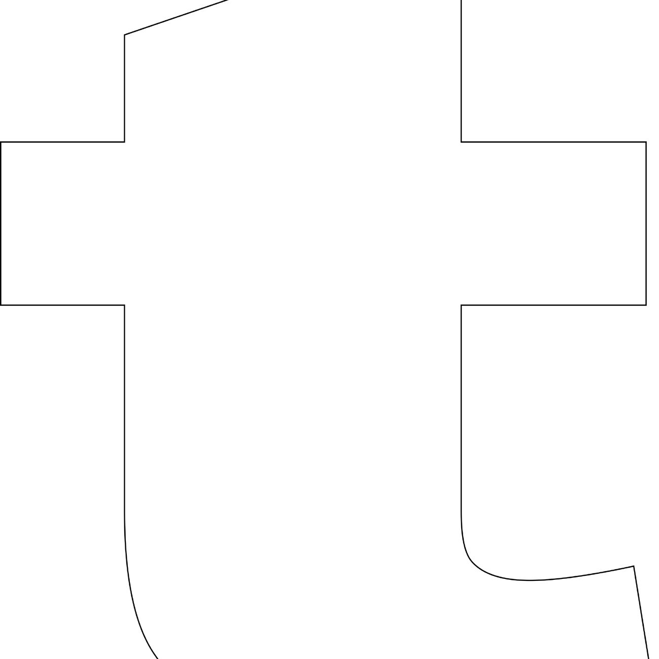 Free Printable 't' Template