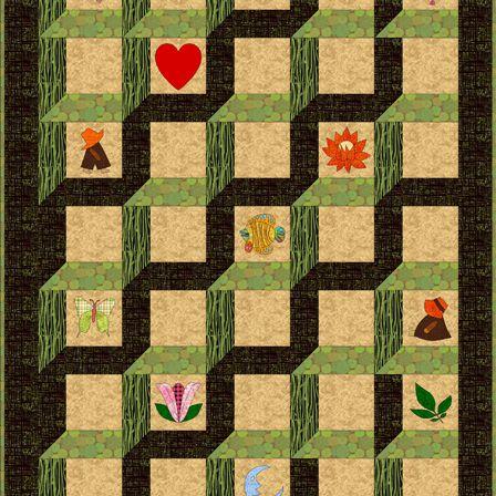 Attic Windows Quilt Patterns