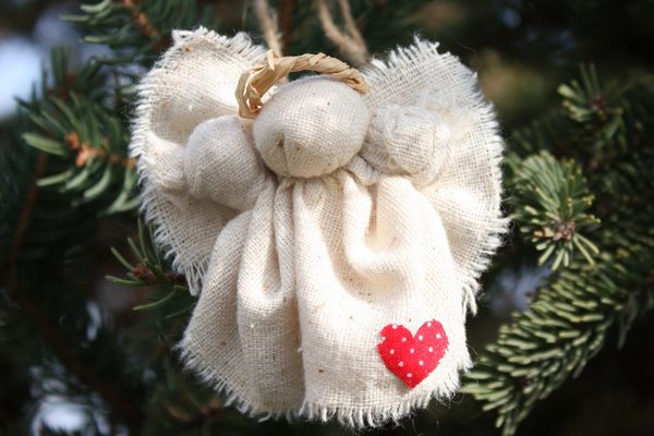 Rustic Christmas Angel Pin or Ornament Project