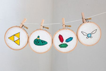 10 Hand Embroidery Patterns For Geeks