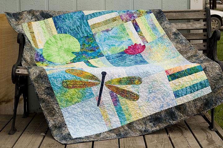 Isabella's Water Garden Quilt