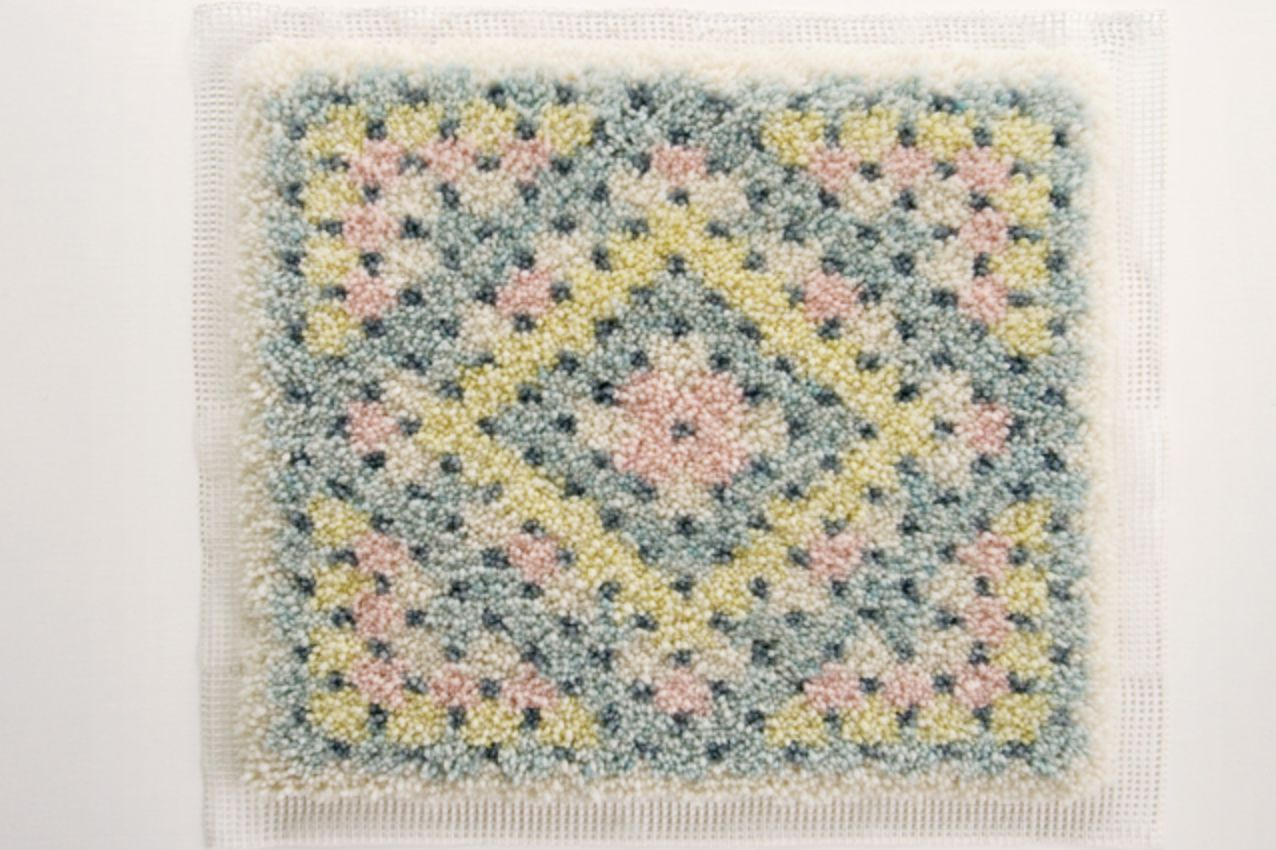 Woollography Latch Hook by Karen Barbe