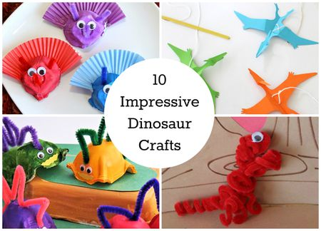 Elegant Easy Dinosaur Crafts for Preschoolers