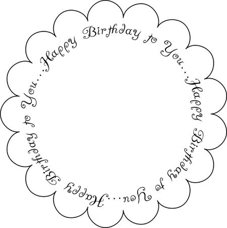 Printable Digital Birthday Sentiments