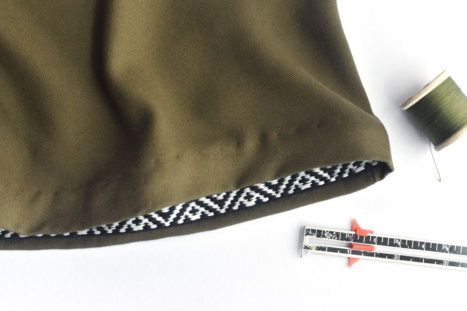 How to Hem a Skirt With Ribbon