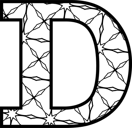 Free Printable Alphabet Letters Coloring Pages