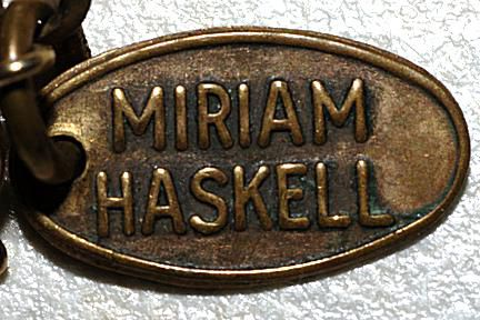 Miriam Haskell mark